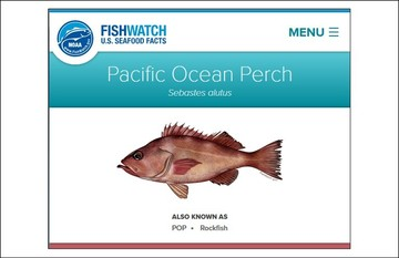 FishWatch.Gov screenshot