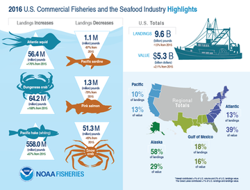 Fisheries of the United States infographic