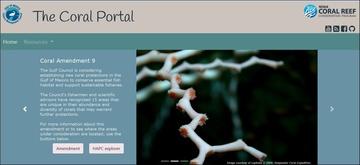 Gulf Council Coral Portal
