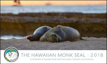 Hawaiian Monk Seal Calendar 2