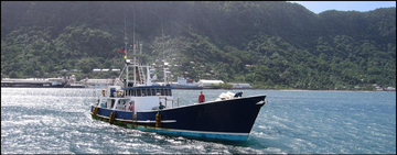 Pacific fishing vessel