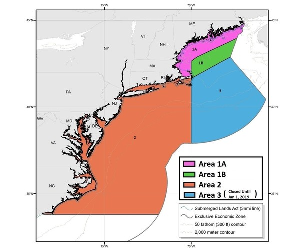 Noaa Fisheries Announces Atlantic Herring Management Area 1b Sub Acl Harvested