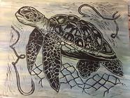 Sea turtle art submission