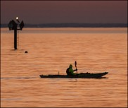 Chesapeake Bay kayaker
