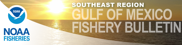 Gulf of Mexico Fishery Bulletin masthead