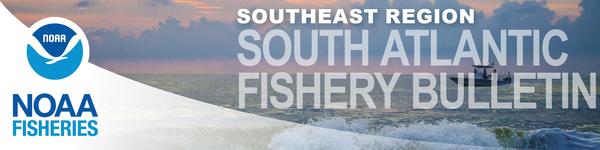 South Atlantic Fishery Bulletin masthead