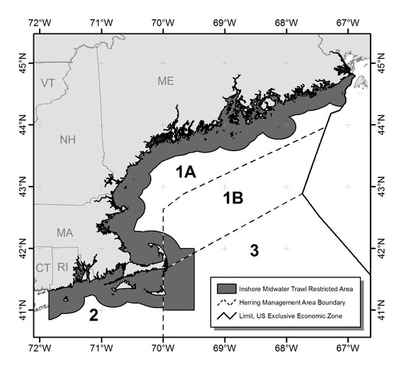 Proposed Mid-Water Trawl Restricted Area