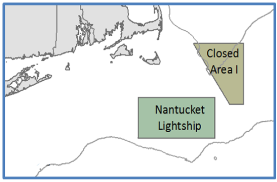 Closed Areas: CA1 and Nantucket Lightship
