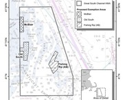 Proposed Dredge Exemption Areas Map