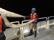 At-sea experiences are part of the Partnership Education Program. Photo: Woods Hole PEP
