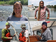 Habitat Staff Clockwise: Laurel Jennings, Temi Oyewole, Heather Coleman, Jay Lazar
