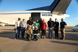 Teams receiving sea turtles in Texas