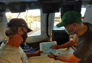 Giovanni Gianesin and Captain Eric Hesse, Bottom Longline Survey, NEFSC