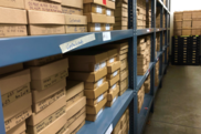 Plankton archive sorted sample boxes on shelves in the nefsc plankton archive. NOAA Fisheries