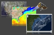 Collage of ocean mapping technology, NOAA Fisheries