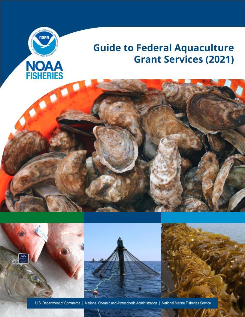 Report cover of Guide to Federal Aquaculture Grant Services 2021