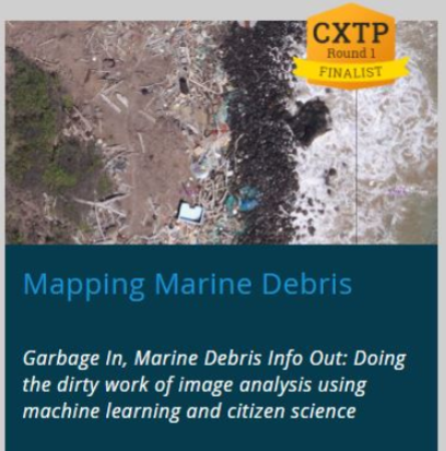 Mapping marine debris volunteer opportunity