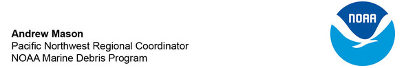 Andrew Mason's email with NOAA logo.