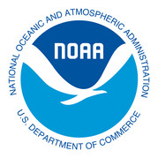 National Oceanic and Atmospheric Administration logo.