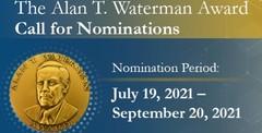 Alan T Waterman Award