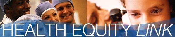 Health Equity Link Newsletter Banner