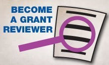 Become a grant reviewer