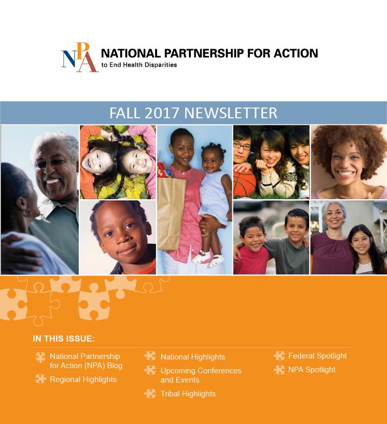 Fall 2017 NPA Newsletter Cover