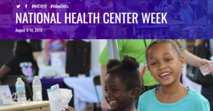 National Health Center Week, August 4-10, 2019 #NHCW19 #ValueCHCs