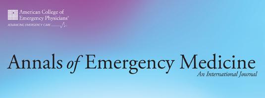Annals of Emergency Medicine: An International Journal