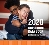 Cover detail for the 2020 KIDS COUNT Data Book