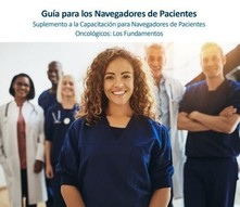 "Detail for the cover of the ""Guía para los Navegadores de Pacientes"""