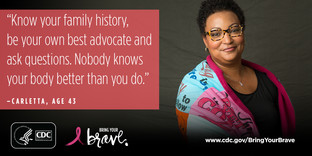 cdc breast cancer campaign