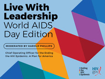 Live with Leadership - World AIDS Day Edition, December 1, 2 pm ET.
