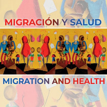 Detail of the cover for the Migration & Health 2020 report