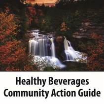 Cover detail for the IHS Healthy Beverages Community Action Guide