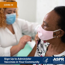 Sign Up to Administer COVID-19 Vaccines In Your Community. HHS ASPR.