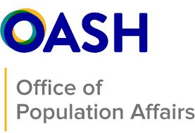 OASH Office of Population Affairs logo