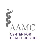 Logo for the AAMC Center for Health Justice