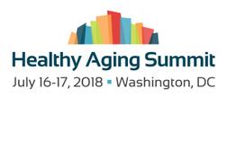 Logo for 2018 Healthy Aging Summit