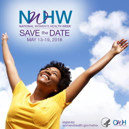 Image of National Women's Health Week 2018 Save the Date