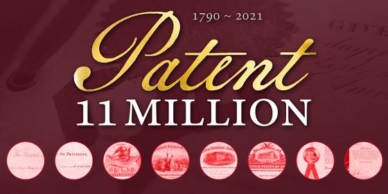 Patent 11 million graphic