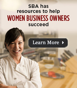 Women's business graphic