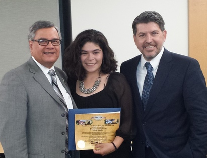 Photo: Ruben Garcia, Briana Yarenny Prado and Miguel Vasquez