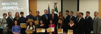 Group photo: FutureBoss graduates and participants