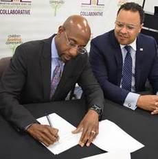MLK SAM signing