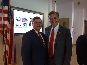 Photo: Ruben Garcia and Congressman Juan Vargas