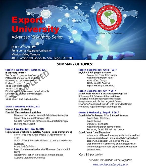 Image: Export U Flyer