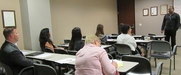 Photo: Tony Wilkins presenting a workshop 2