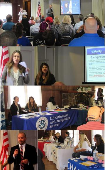 Photo Collage of SBA Day in Ramona