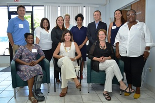SBA Officials and Virgin Islands Business Owners